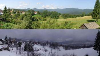 winter/summer panorama
